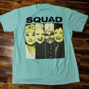 Golden Girls Squad Goals T-shirt - Adult XL NWOT